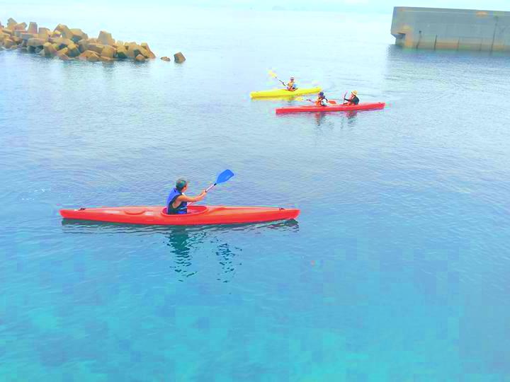 長崎のカヌー(カヤック)体験はネット予約可能でカヤックフィッシングなど楽しめる