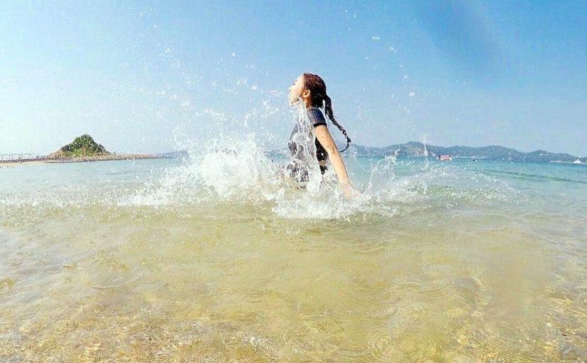 伊王島でBBQ(バーベキュー)と海水浴を満喫