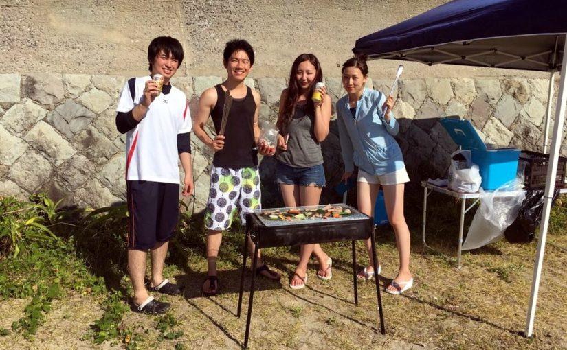 長崎出張BBQ・バーベキュー レンタルBBQセットと食材一式付き